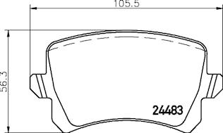 Belägg ersätter HP T1699