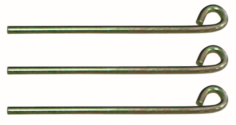 Fixerbultsats Ø 4 (3 st.)