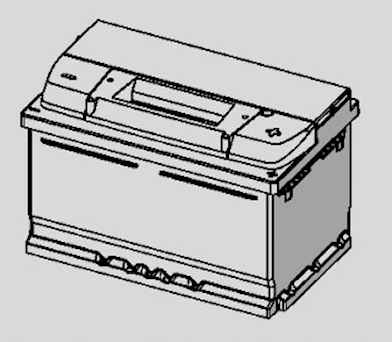 Batteri E38 Silver Dynamic