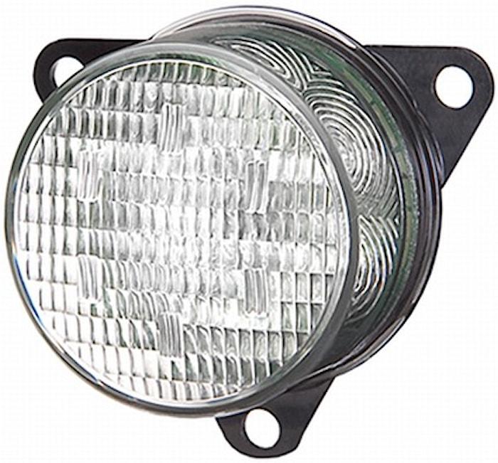 Pos.lykta 24V LED 66mm Ø fram