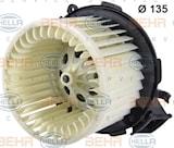 Elektrisk motor, kupéfläkt