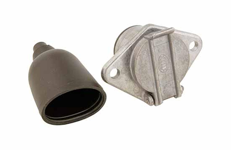 Stickdosa 7-polig skruv metall