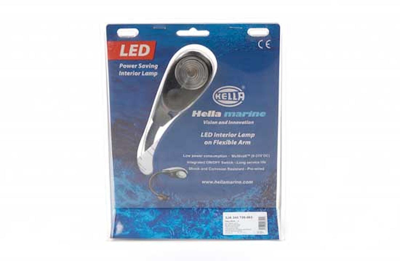 Läslampa 9-31V LED 15cm flexar