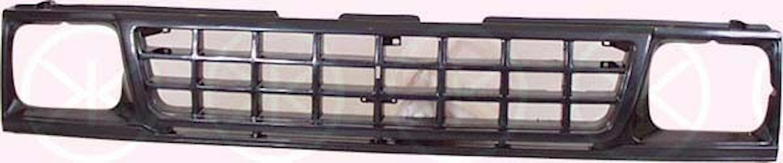 Kylargrill svart 90-92