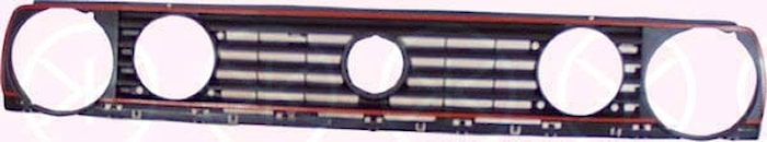 Kylargrill m/röd ram gti 87-