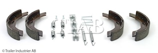 Bromsback sats 4 st bpw  200x3