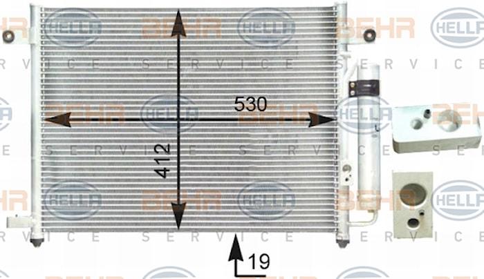 Kondensor AC Chevrolet