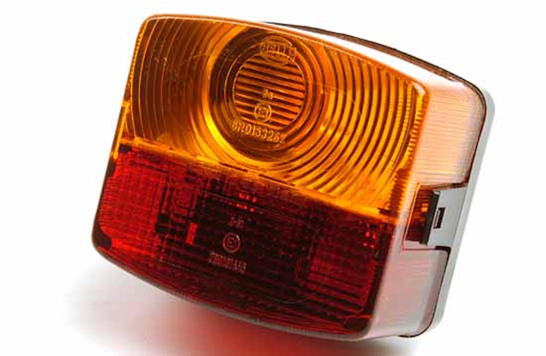 Bak-/broms-/blinkl vä 95x85mm