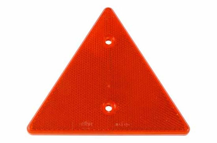 Triangelreflex röd 136x156mm