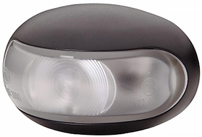 Pos.lykta 10-33V LED vit