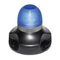 Blixtfyr LED 360° Blå
