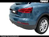 Avtagbar dragkrok Audi Q3