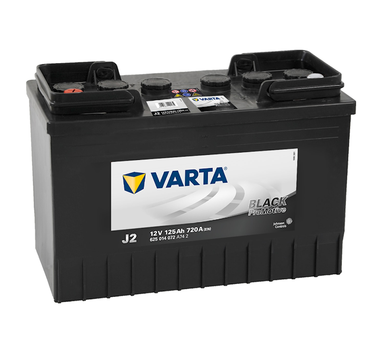 Batteri J2 PRO black VP125