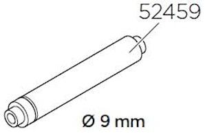 Adapter 9 mm