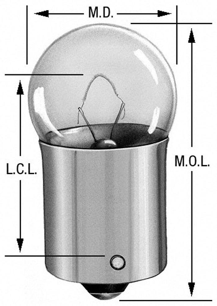 Lampa/styck 6 Volt