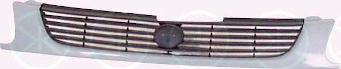 Kylargrill, svart/grå sed -2.9