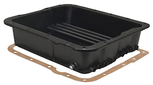 BLACK TRANS PAN GM
