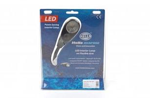 Läslampa 9-31V LED 40cm flexar