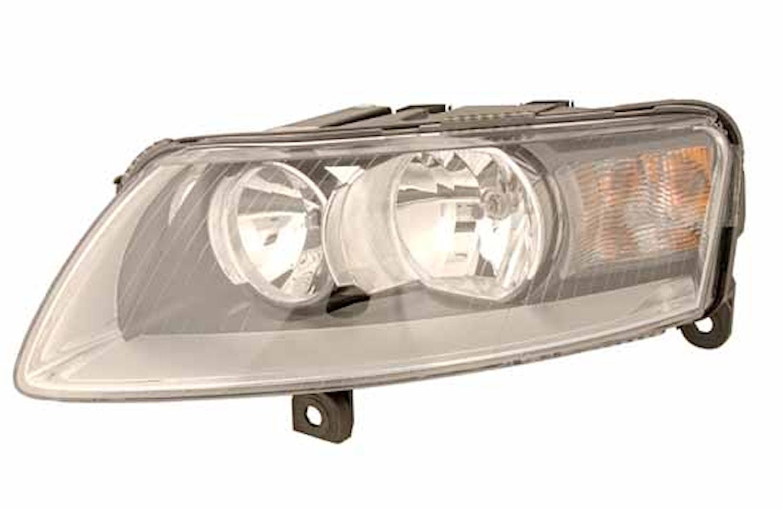 Strålk 12V vä H7/H7 Audi A6