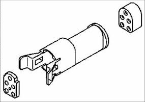 Coni stiftisolator 5-pol. IP64