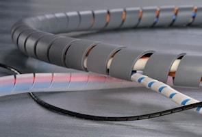 Kabelspiral 5/20mm, 30m svart