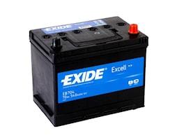 Batteri Exell 70Ah 540cca