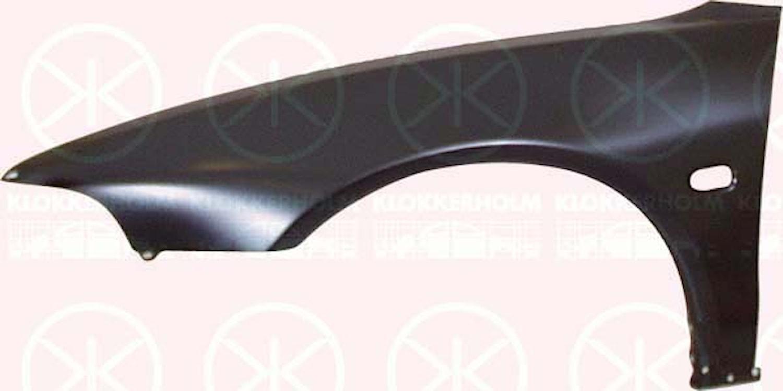 Framskärm,m/hål f sidoblinkers