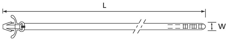 Buntband 200x4,7mm (1=100st)