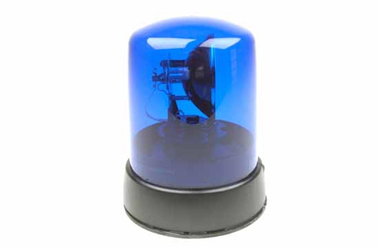 Varningsfyr 12V blå KL 7000 F