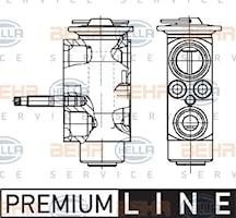 Expansionsblock AC R134a