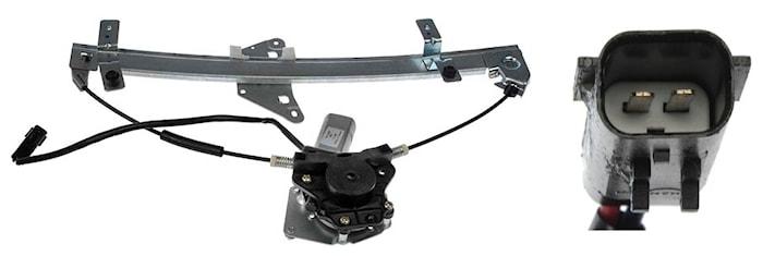 Motor/regulator assembly