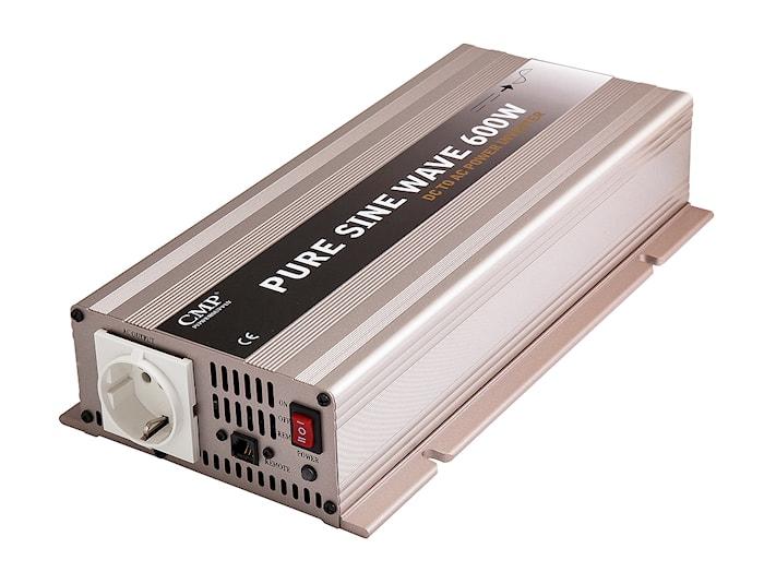 Inverter 600W 24V äkta sinus