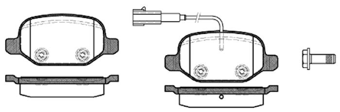 Belägg HP T3136