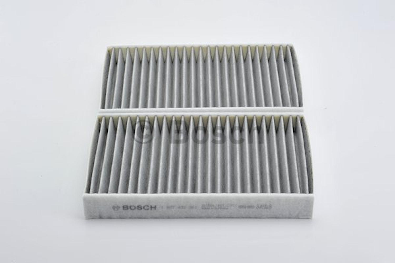 Kupéfiltersats med aktivt kol