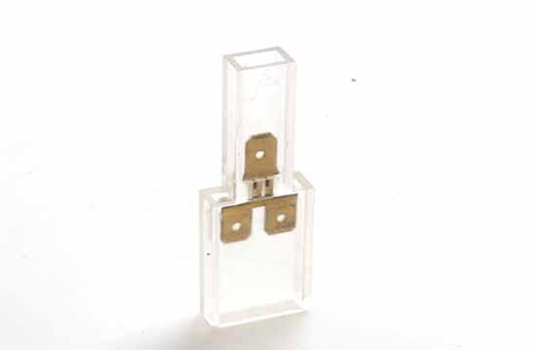 Kabelförbindn 1+2-pol (1=10st)