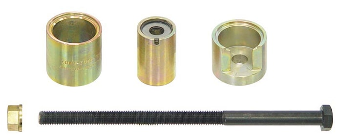 Dragverktyg för gummilager