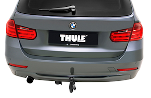 Infällbar dragkrok BMW
