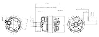 Vattenpump U 4850 24V EC-motor