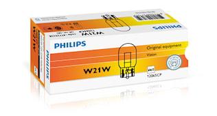 Glödlampa 12V 21W W3x16d