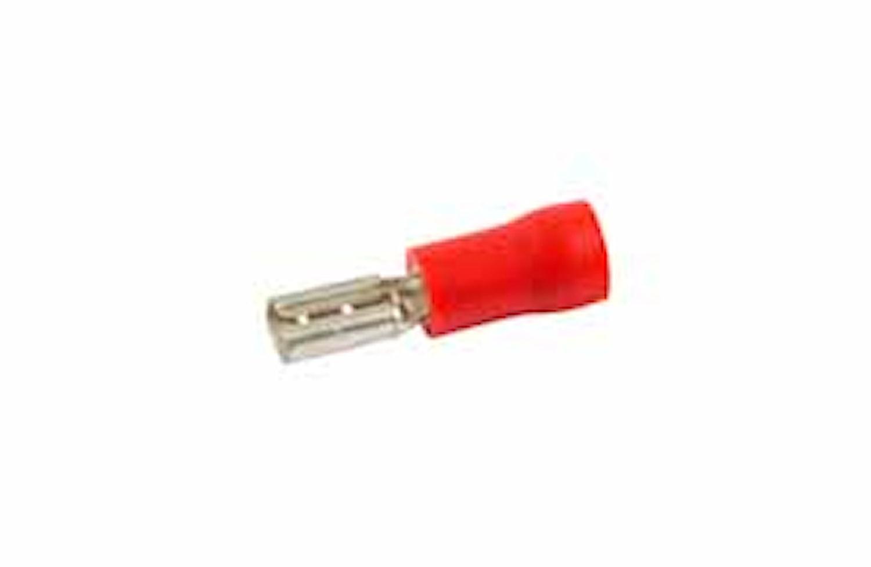 Flatstifthylsa 2,8x0,5mm röd