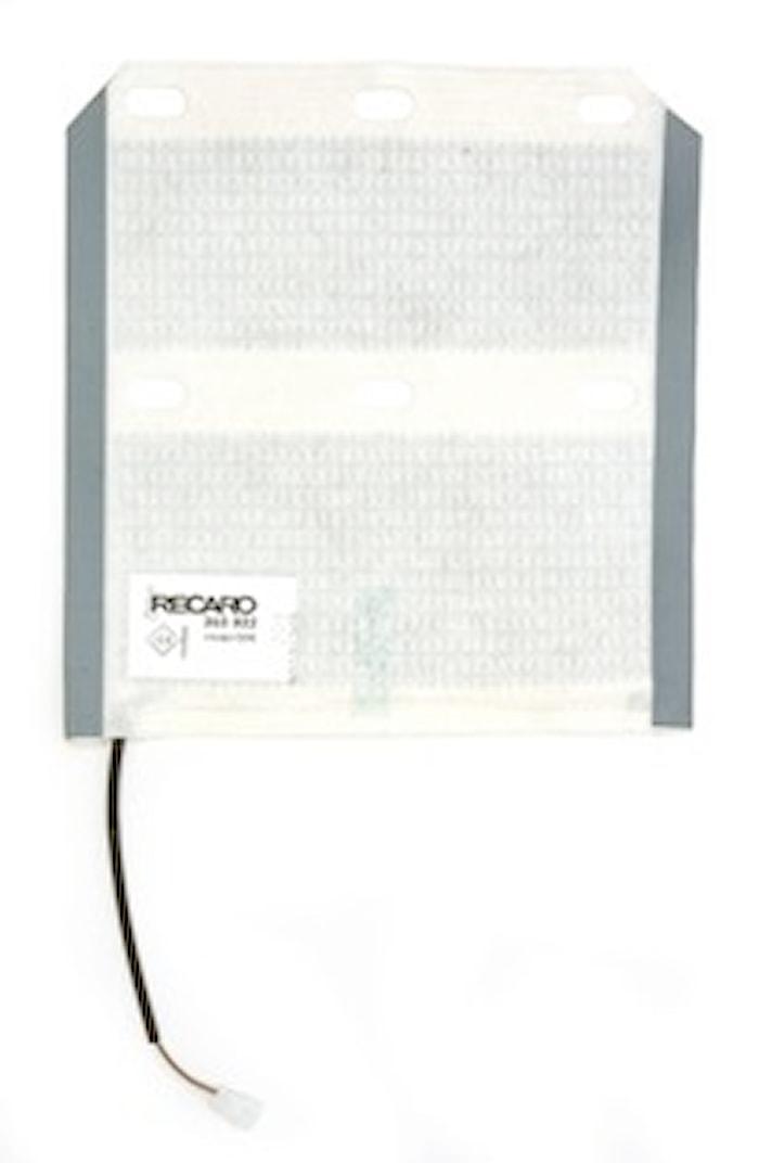 Värmematta rygg Ergomed D/DS