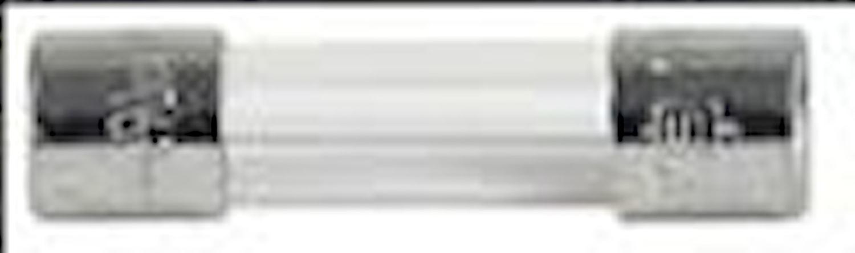 Glasrörsäkr. 5x20 T, 6,3/8/10A