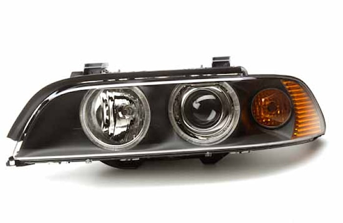 Strålk vä H7/Xenon BMW 5-serie