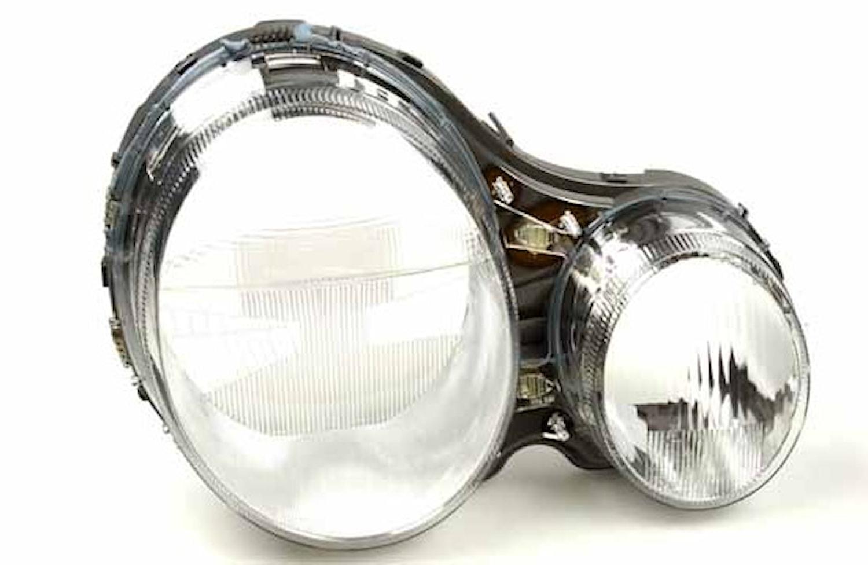 Strålk.glas hö Xenon Merc W210
