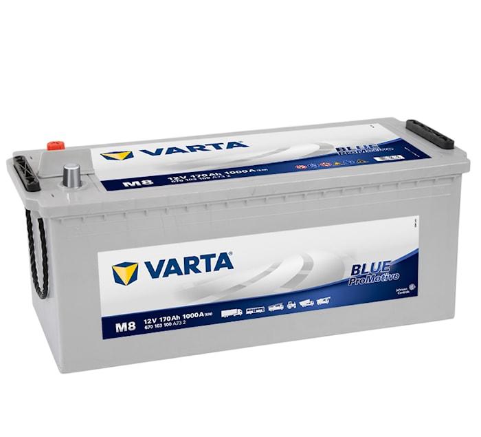 Batteri M8 PRO blue HD170