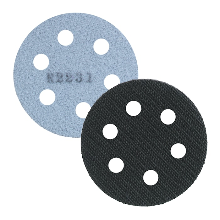 Distansplatta Hookit 6-hål