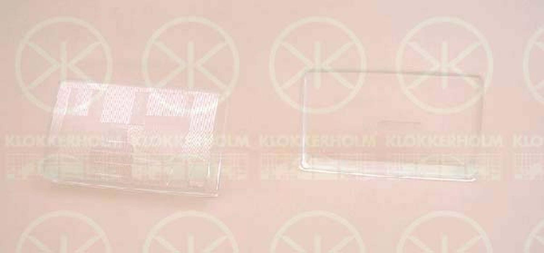 Strålkastarglas, hö