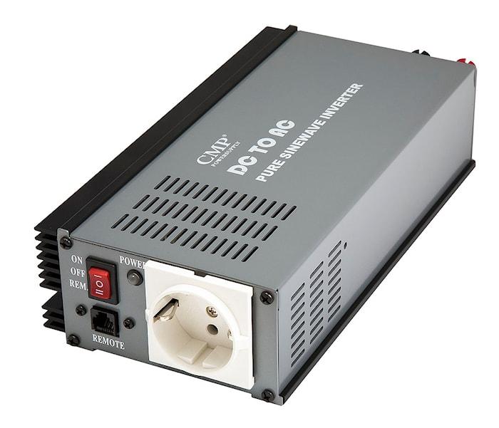 Inverter 300W 12V äkta sinus