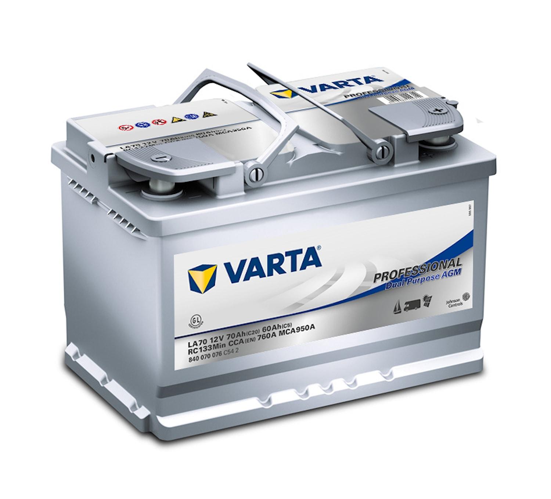 Batteri LA70 Prof. DP AGM