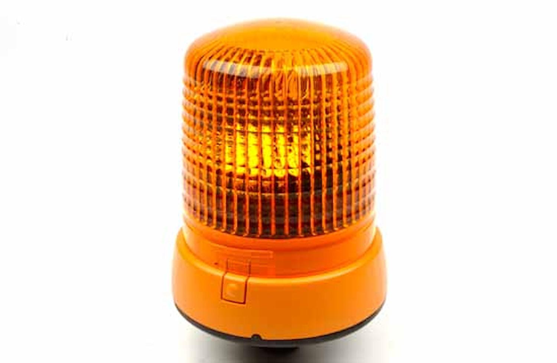 Varningsfyr 12V gul KL 7000 FL